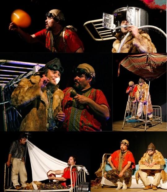 Reise zum Mittelpunkt der Welt, Theater Olo Bianco