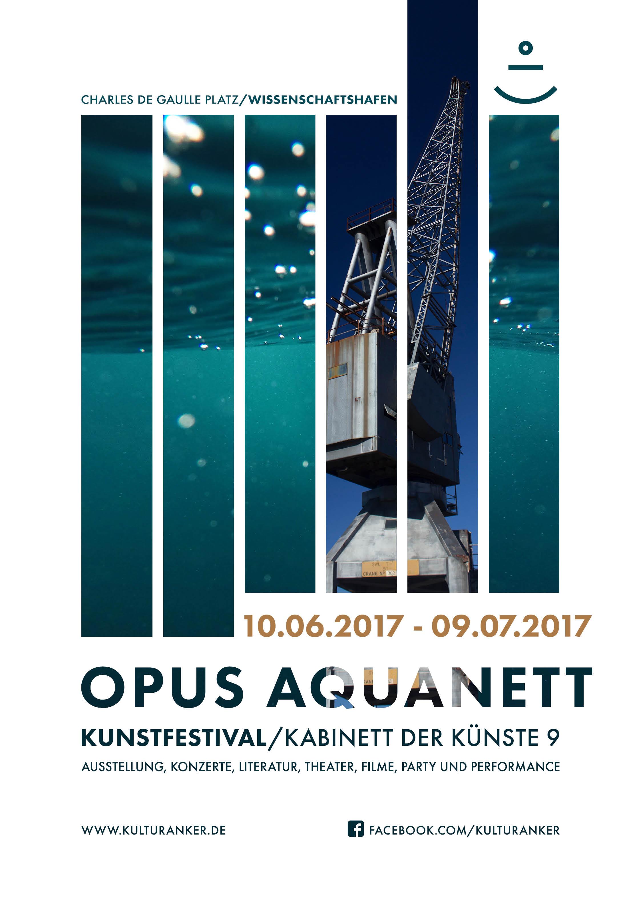 Plakat Opus Aquanett