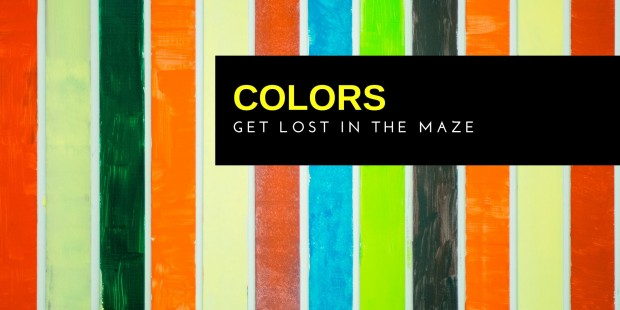 Colors - Get lost in the maze